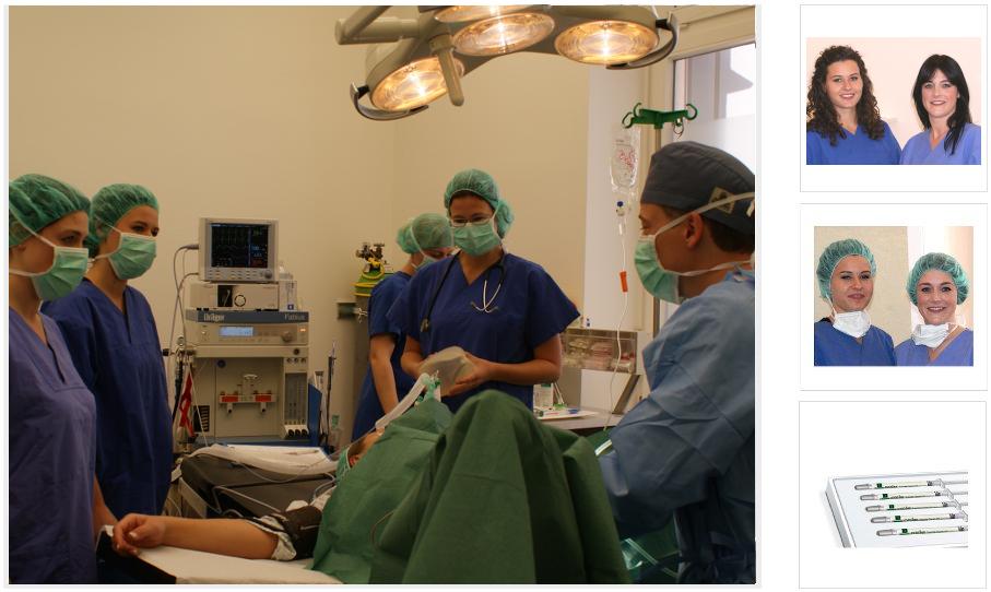 prä- und postoperativ